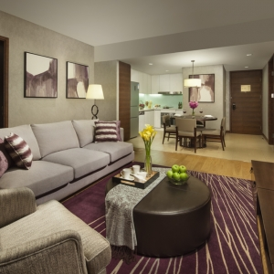 China Serviced Apartment - Ascott Raffles City Chengdu