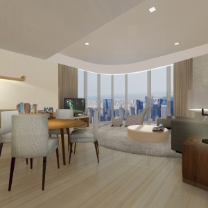 Shenzhen Serviced Apartment - Ascott Raffles City Shenzhen